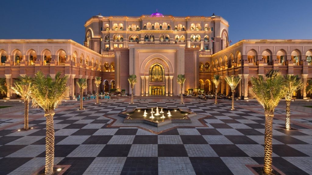 Emirates Palace, Абу-Даби, ОАЭ